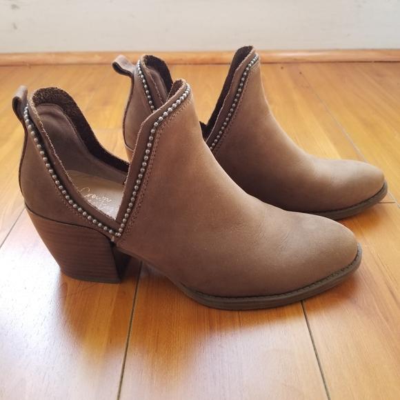 Crown Vintage | Woody Ankle bootie
